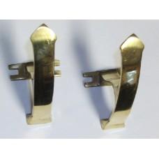 Brass Gun Hooks
