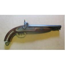 Double Barrel Caplock Howdah Pistol